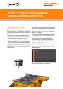 Application note:  SPRINT™ system with SupaScan surface condition monitoring