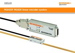 Installation guide:  RGH25F RGS20 linear encoder system