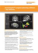 Flyer:  neuroinspire surgical planning software - key features