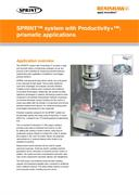 Application note: SPRINT™ with Productivity+™ prismatic applications