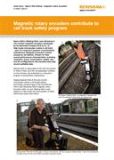 Case study:  Sperry - Magnetic rotary encoders contribute to rail track safety program