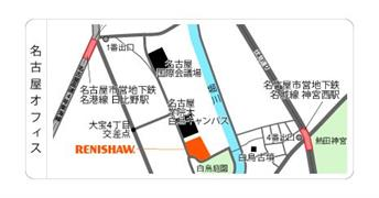 Nagoya office map