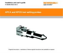 Installation guide:  APCA and APCS tool setting probes