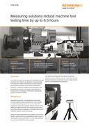 Case study:  Measuring solutions reduce machine tool testing time by up to 6.5 hours