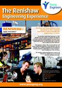 Poster:  Renishaw Engineering Experience poster and entry form