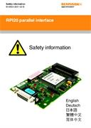 Safety Data Sheet:  RPI20 parallel interface