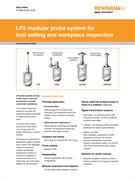 Data sheet: LP2 modular probe system for tool setting and workpiece inspection