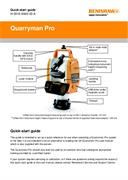 Quick start guide:  Quarryman® Pro