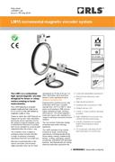 Data sheet:  LM15 magnetic encoder system