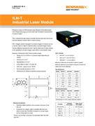 Data Sheet: Pencil beam Industrial Laser Module (ILM-T)