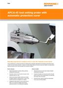 Flyer:  APCA-45 tool setting probe with automatic protection cover