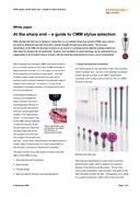 White paper: At the sharp end – a guide to stylus selection