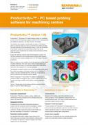 Flyer:  Productivity+™ - PC based software for machining centres
