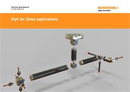 Technical specifications:  Styli for Zeiss applications