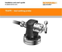 Installation & user's guide:  TS27R tool setting probe