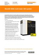 Flyer:  RenAM 500Q multi-laser AM system