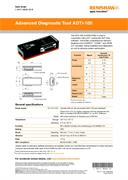 Data sheet:  Advanced Diagnostic Tool ADTi-100
