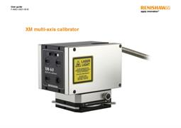 User guide:  XM multi-axis calibrator