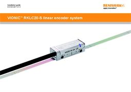 Installation guide:  VIONiC ™ RKLC20-S linear encoder system