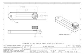 Technical drawing:  R-AS-100-6