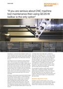 "Case study:  Wigmore CNC - ""If you are serious about CNC machine tool maintenance then using a QC20-W ballbar is the only option"""