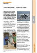 Case study:  (IN107) Tods Composite Solutions - AgustaWestland's Wildcat Supplier