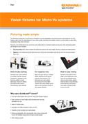 Flyer:  Vision fixtures for Micro-Vu systems