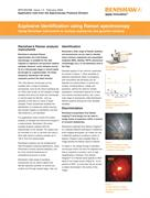 Application note:  Explosive identification using Raman spectroscopy