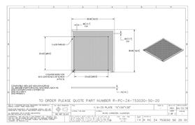 Technical drawing:  R-PC-Z4-753030-50-20