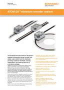 Data sheet:  ATOM DX™ miniature encoder system