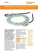 Data sheet:  REXM20/REXT20 ultra-high accuracy angle encoder