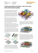 Feature article:  Conformal-cooled mould tools - how to cut cycle times and boost part quality