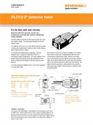 Data sheet: RLD10 0 degree detector head