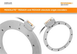 Installation guide:  RESOLUTE™ RESA and REXA absolute angle encoders