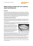 White paper: Ballbar testing with circle, diamond, square machining tests