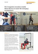 Case study:  RLS magnetic encoders enable Marsi Bionics to build 'life-changing' exoskeletons