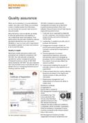 Application note:  Quality assurance