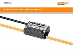 Installation guide:  RGH41 RGS40 linear encoder system