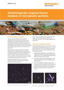 Application note:  Morphologically targeted Raman analysis of microplastic particles