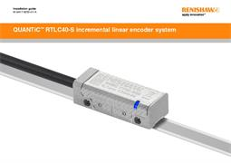 QUANTiC ™ RTLC40-S incremental linear encoder system