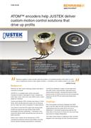 Case study:  ATOM™ encoders help JUSTEK deliver custom motion control solutions that drive up profits