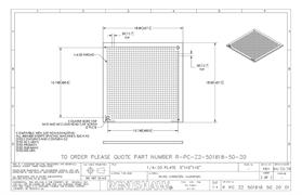 Technical drawing:  R-PC-Z2-501818-50-20