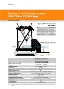 Data sheet:  Equator™ Auto Transfer System - EQ-ATS For EQ500 Plates