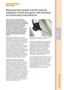 Case study:  (IN113) Future AM - Measurement system retrofit reduces inspection times and gains new business for world-cl