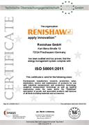 Certificate (CE):  ISO 50001