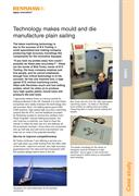 Case study:  B K Tooling - Technology makes mould and die manufacture plain sailing