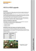 Application note: HS10 to HS20 upgrade