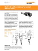 Data sheet: RLD10 DI (differential interferometer) detector head