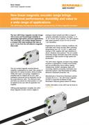 News release:  New linear magnetic encoder - LM10