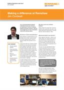Case study: Making a difference at Renishaw - Jim Cordwell